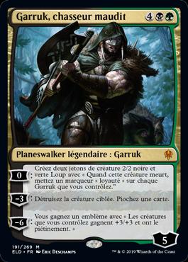 Garruk chasseur maudit Le Trone d Eldraine ELD Magic | Jeux Toulon L'Atanière