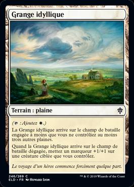 Grange idyllique Eldraine ELD Magic | Jeux Toulon L'Atanière