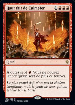 Haut fait de Culmefer Eldraine ELD Magic | Jeux Toulon L'Atanière