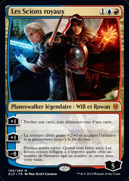 Les Scions royaux Le Trone d Eldraine ELD Magic | Jeux Toulon L'Atanière