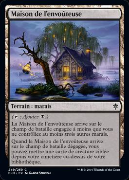 Maison de l envouteuse Eldraine ELD Magic | Jeux Toulon L'Atanière