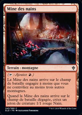 Mine des nains Eldraine ELD Magic | Jeux Toulon L'Atanière