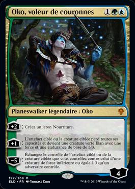 Oko voleur de couronnes Le Trone d Eldraine ELD Magic | Jeux Toulon L'Atanière