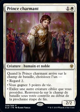 Prince charmant Le Trone d Eldraine ELD Magic | Jeux Toulon L'Atanière