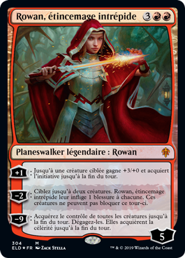 Rowan etincemage intrepide Eldraine deck exclu ELD Magic | Jeux Toulon L'Atanière