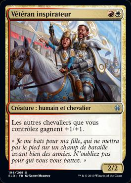 Veteran inspirateur Eldraine ELD Magic | Jeux Toulon L'Atanière