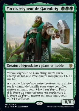 Yorvo seigneur de Garenbrig Eldraine ELD Magic | Jeux Toulon L'Atanière