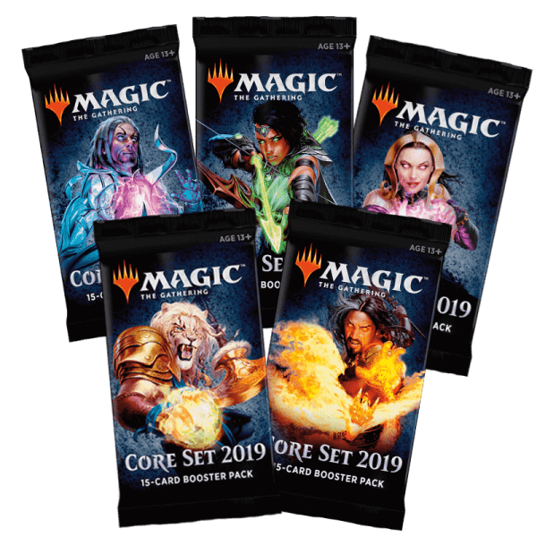Magic 2019 boosters M19 Core Set Wizards of the Coast | Jeux Toulon L'Atanière