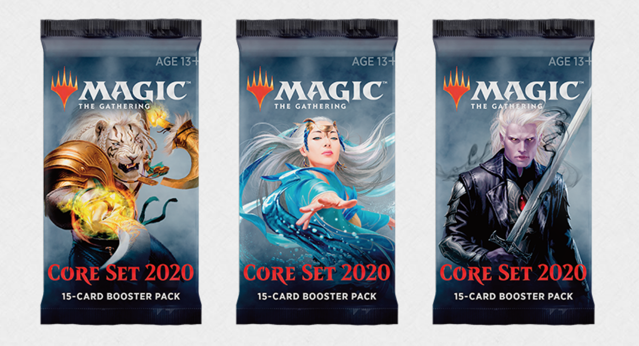 Magic 2020 boosters M20 Core Set Wizards of the Coast | Jeux Toulon L'Atanière