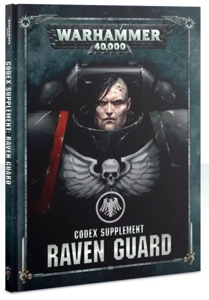 raven guard supplement codex space marine 2019 | Jeux Toulon L'Atanière