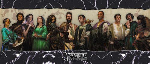 Vampire l Age des Tenebres 20 ans ecran Arkhane Asylum   Jeux Toulon L'Atanière