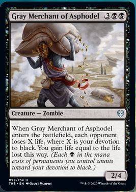 Gray Merchant of Asphodel THB Magic | Jeux Toulon L'Atanière