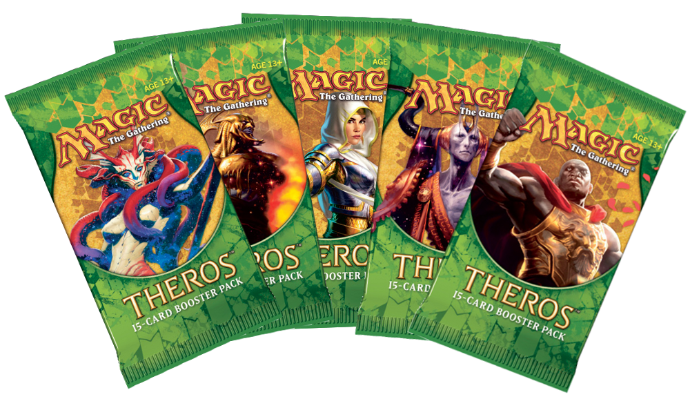 Theros boosters THS Wizards of the Coast   Jeux Toulon L'Atanière