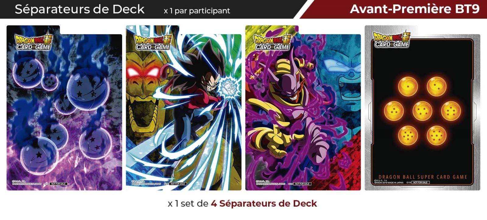 universal onlaught bt09 separateurs   Jeux Toulon L'Atanière
