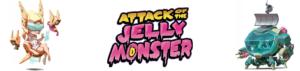 attack of the jelly monster bandeau | Jeux Toulon L'Atanière