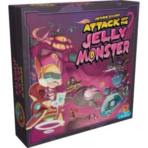 attack of the jelly monster boite | Jeux Toulon L'Atanière