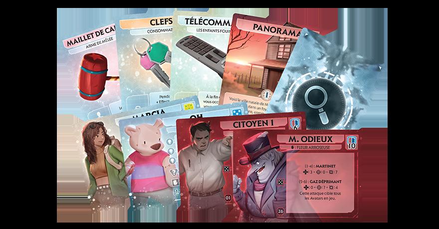 comanautes cartes | Jeux Toulon L'Atanière