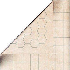 Battlemat Réversible Effaçable (60x66 cm)