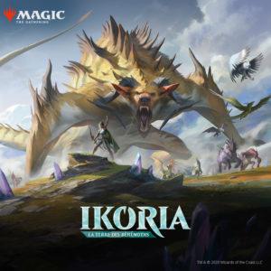 Ikoria Magic the Gathering IKO MTG Wizards of the Coast fb 1000x1000 fr | Jeux Toulon L'Atanière