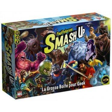 smash up la grosse boite pour geek | Jeux Toulon L'Atanière