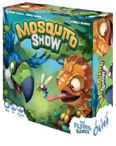 Mosquito Show boite The Flying Games | Jeux Toulon L'Atanière