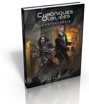 Chroniques Oubliees Contemporain livre de base Casus Belli Black Book Editions | Jeux Toulon L'Atanière