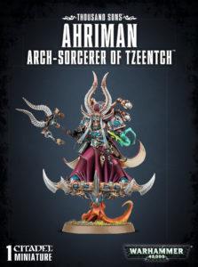 Thousand Sons : Ahriman Aarch-Sorcerer of Tzeentch
