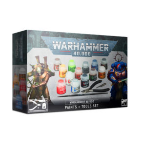 Warhammer 40000: Paint Set & Tools