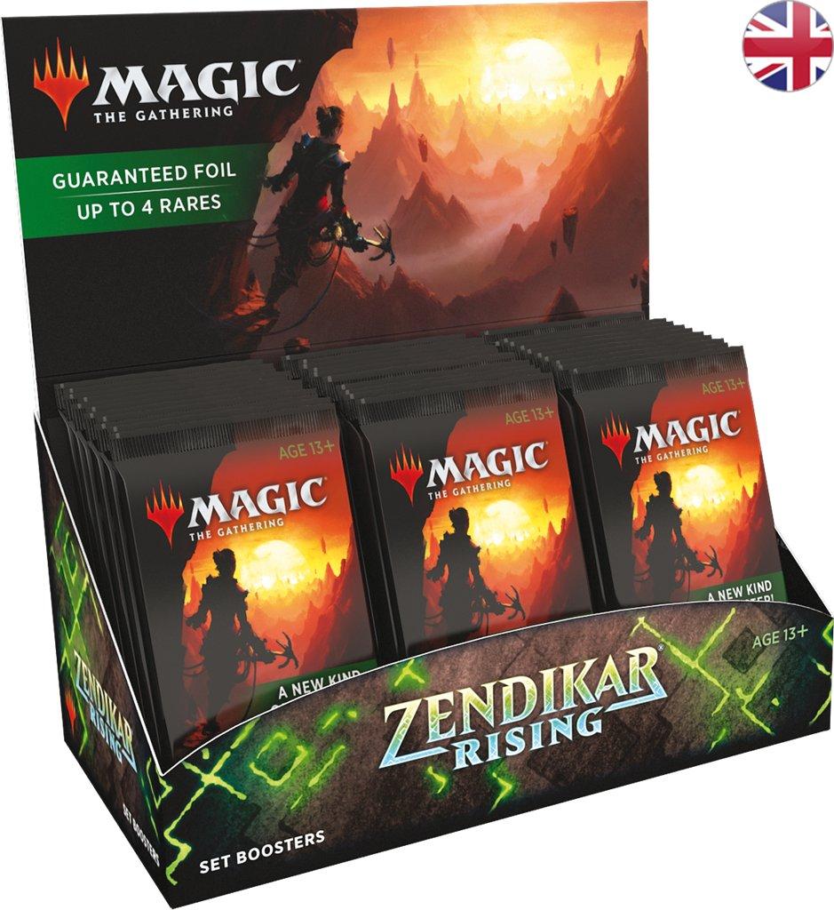 set booster display zendikar rising ZNR Magic the Gathering MTG Wizards of the Coast | Jeux Toulon L'Atanière