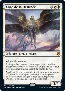 Ange de la Destinee Magic ZNR Renaissance de Zendikar MTG Wizards | Jeux Toulon L'Atanière