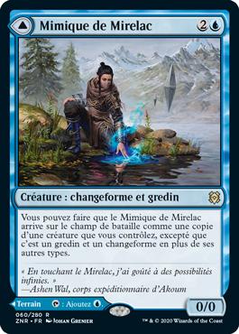 Mimique de Mirelac ZNR Renaissance de Zendikar MTG Magic Wizards of the Coast | Jeux Toulon L'Atanière