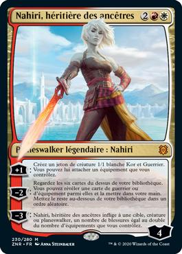 Nahiri heritiere des Ancetres ZNR Renaissance de Zendikar MTG Magic Wizards of the Coast | Jeux Toulon L'Atanière