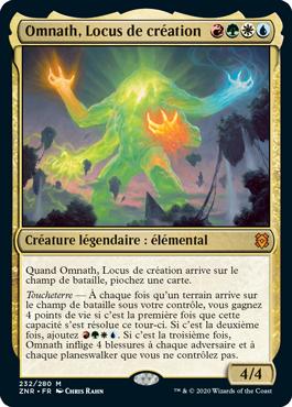 Omnath Locus de Creation ZNR Renaissance de Zendikar MTG Magic Wizards of the Coast | Jeux Toulon L'Atanière