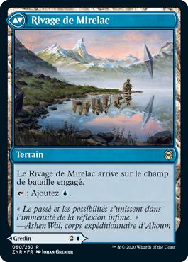 Rivage de Mirelac ZNR Renaissance de Zendikar MTG Magic Wizards of the Coast | Jeux Toulon L'Atanière
