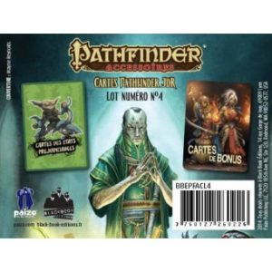 Pathfinder Cartes : Préjudices et Bonus