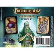 Pathfinder Cartes : Échecs et Flashback