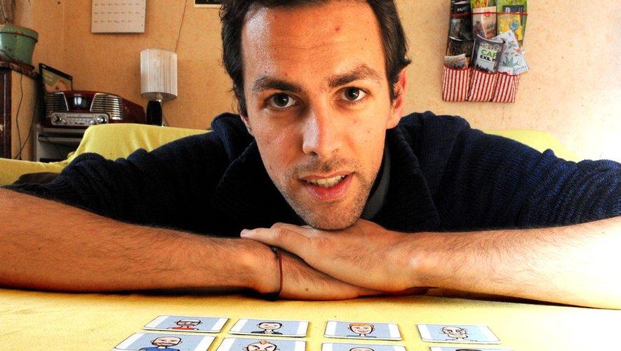 Romaric GALONNIER auteur de jeux de societe | Jeux Toulon L'Atanière