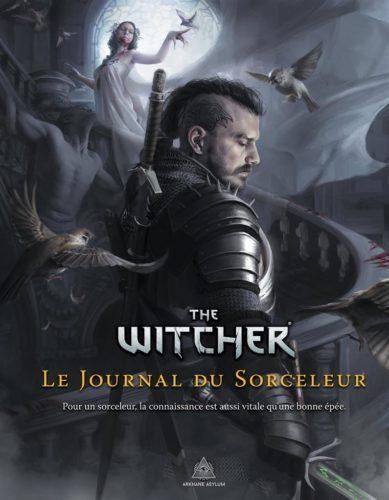 The Witcher Le Journal du Sorceleur jdr Arkhane Asylum | Jeux Toulon L'Atanière