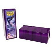 Boite de Rangement 4 Cases Dragon Shield : Purple
