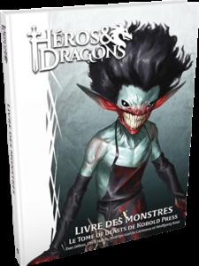 Héros & Dragons : Livre des Monstres