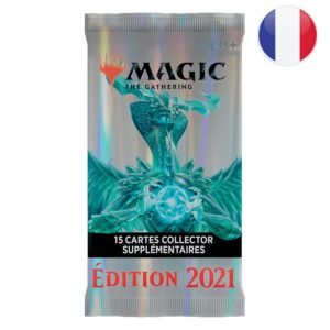 Magic 2021 (M21) : Booster Collector (FR)