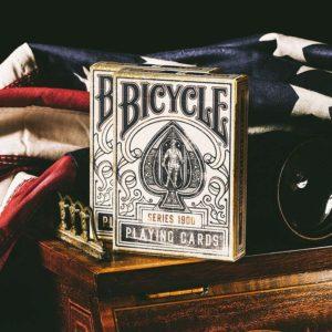 Cartes US x54 Bicycle : 1900 Bleu
