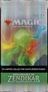 Magic Renaissance de Zendikar (ZNR) : Booster Collector (FR)