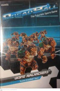Dreadball : Okumo Avalanchers Teratons Team