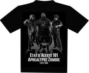 T-Shirt: Z-Corps - Zombie Apocalypse XL