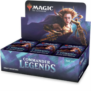 Magic Commander Légendes (CMR) : Boite de 24 Boosters (FR)