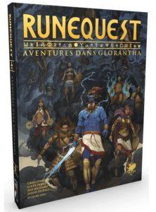 Runequest Aventures dans Glorantha couverture 3d Studio Deadcrows | Jeux Toulon L'Atanière