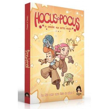 hocus pocus la bd dont vous etes le heros | Jeux Toulon L'Atanière