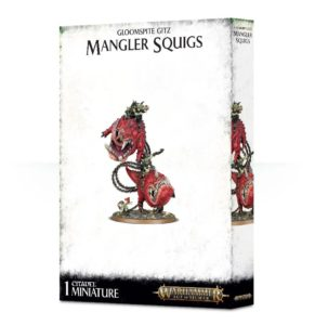 Gloomspite-Gitz : Loonboss sur Mangler Squigs