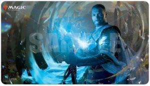 Tapis de jeu illustré Magic : Teferi Master of Time (M21 V1)